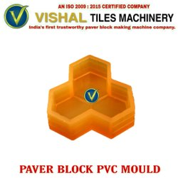 Hexagon Paver Block PVC Mould