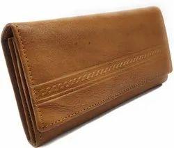 Modern Brown Ladies Leather Hand Bag