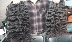 Temple Hair Loose Curls