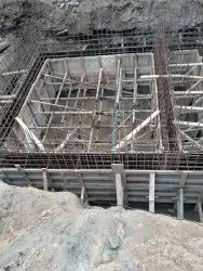 Concrete Frame Structures Industrial Construction Service, in Mumbai