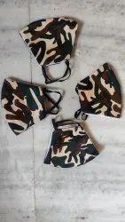 Military Mask Cotton Fabric