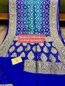 Banaras Handloom Chiffon Georgette, 6.5 M