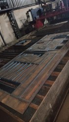 Mild Steel CNC Gas Cutting Service