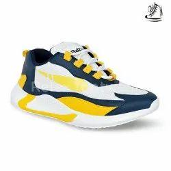 White Comfort Foam Men Casual Shoes, Size: 7