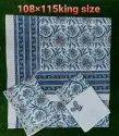 Bedsheet  Hand Block