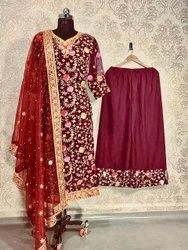 Non Brand Pakistani Plazo Suits