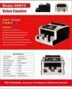 Currency Counting Machine with Mix Velue