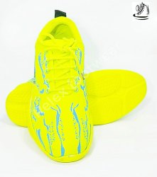 Men Yellow Sport Shoes, Size: 10