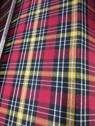 Polycotton Multicolor Check Matters Fabric, Check/stripes, GSM: 100-150