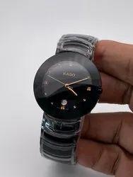 Men Round Rado Wrist Watch, For Formal