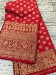 Banarasi Kora Muslin Silk Sarees