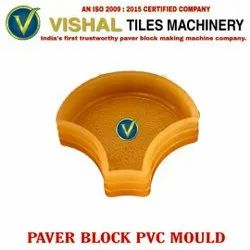 Plain 30 Mm Paver Block PVC Mould