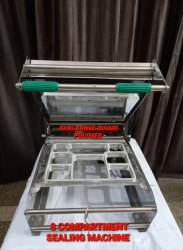 SBBP 8 Compartment Tray Sealing Machine