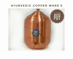 Copper Lacquer Matka, Packaging Type: Box