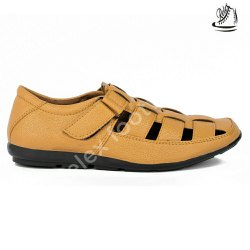 Leather Formal Men Sandal, Model Name/Number: Sandel, Size: 7