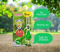 Pine Shoot Out Mosquito Repellent Liquid Vaporizer Refill, For Home, Packaging Type: Box