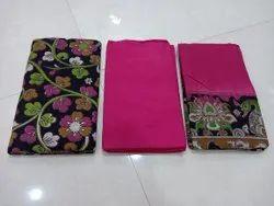 Kalamkari Handloom Cotton Unstitched Dress Material