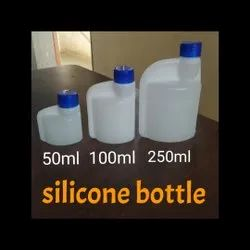 HDPE Screw Cap Agricultural Plastic Bottles, Use For Storage: Chemical, 500ml