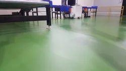 Industrial Polyurethane Self Leveling Flooring Services
