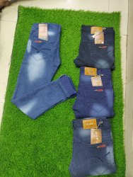 Casual Wear Blue Mens Denim Jeans