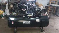 2 Hp Air Compressor Tank Capacity 220 Litre