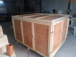 Rectangle Industrial Plywood Box