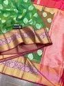 Kora Organza Weaving Banarasi Silk Saree