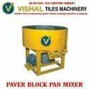 Construction Paver Block Pan Mixer