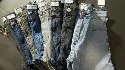 Slim Fit Faded Mens Denim Jeans
