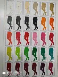 Leggings, Ankle Length Cotton Lycra Leggings