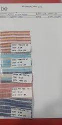 100% Linen Stripe Fabric ( 60 Lea)