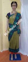 Border Kalashektra Saree Readymade, With blouse piece