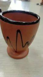 Crockery Teracota Glass, Size: 4