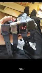 Black Men Digital Watch