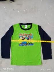 Garudaa V-Neck Kids Full Sleeve T Shirts