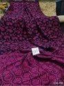 Organic Linen Floral Jaal Weaving Saree