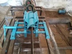 Center vice, Base Type: Fixed, Model Name/Number: Chain Link Fence Machine Vise