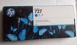 Hp 727 300 Ml Cyan Cartridge