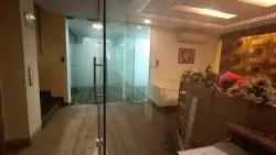 Transparent Toughened Glass Partitions, For Office