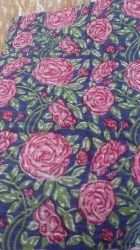 44 inch Hand Block Print Cotton Fabric, For Garments, Floral