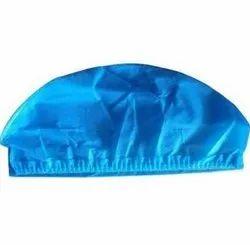 Blue Non Woven Disposable Surgical Cap