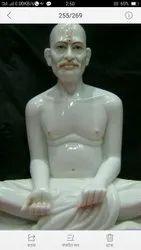 Lord Gajanana Marble Statue