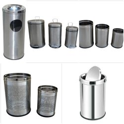 Stainless steel dustbins in Delhi NCR