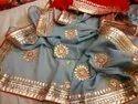 Original hand work saree