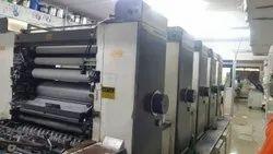 Mitsubishi 1f multi colour off-set printing machine