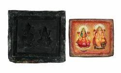 Rubber Mould Black Laxmi Ganesh Murti Frame