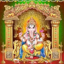 Safety Multicolor Hindu God Wall Tiles, Thickness: 5-10 mm, Size: 30 * 60 (cm)