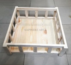 Pine Wood Hamper Basket, Size/Dimension: 15 X15, Capacity: 5kg