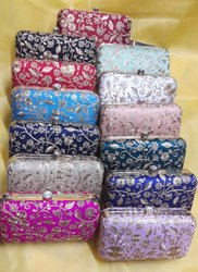 Gota Embroidered Handbag