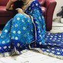 Designer Banarasi Bandhej Saree
